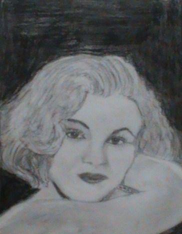 Marilyn Monroe by justexav